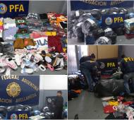 Quilmes: Incautan mercadería ilegal valuada en más de dos millones de pesos