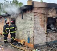Trágico incendio en vivienda de Bahía Blanca