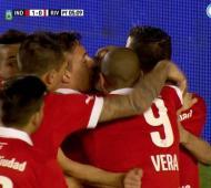 Independiente goleó a River en Avellaneda.