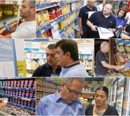 Intendentes del conurbano salieron a controlar Precios Cuidados y evitar abusos con la Tarjeta AlimentAR