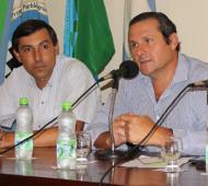 Etchevarren anunció 14% de aumento para municipales.