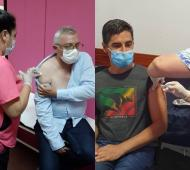 Vacunación Covid bonaerense: Más intendentes se aplicaron la Sputnik V