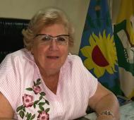 Irma Negri, intendenta interina de Capitán Sarmiento.