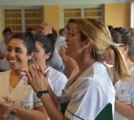 """Ituzaingó: Con eje en acceso a la salud, se desarrolló tercera jornada de empoderamiento femenino """"Arabzarte"""""""