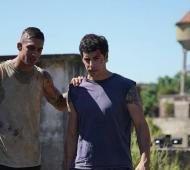 Gualco junto a Esteban Lamothe. Foto: @nicogz_bjj