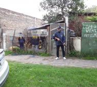 El operativo tuvo lugar en una vivienda de José C. Paz.