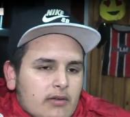 Nicolás, de 20 años, fue liberado tras las amenazas.