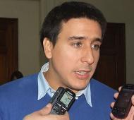 El precandidato a primer concejal lmense de Cumplir cuestionó fuertemente al Gobierno nacional y provincial. Foto: Info Región