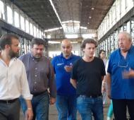 Junín. Belgrano Cargas anunció envío de mayor cantidad de trabajo a cooperativa de talleres