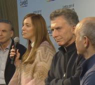 Junto a Macri, Vidal presentaron a los candidatos oficialistas de Provincia en La Plata