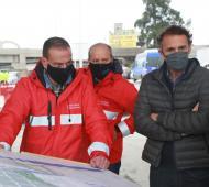 Katopodis anunció la reactivación de la puesta en valor del bajo Viaducto La Noria