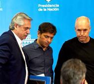 Alberto Fernández con Kicillof y Larreta anunciarán este viernes cómo sigue el aislamiento
