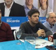 """Kicillof: """"No voy a hablar de las medidas y de la situación financiera porque 'todo podrá ser usado en mi contra'"""" (Chacabuco en red)"""