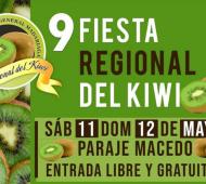 General Madariaga: Se viene la 9° Fiesta Regional del Kiwi
