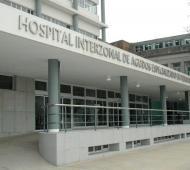 Mia estaba internada en el Hospital de Niños de La Plata.