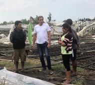 La Plata: Línea de crédito blando para productores afectados por el temporal