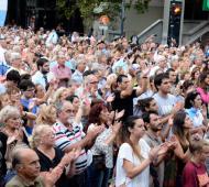 En La Plata, miles de personas pidieron justicia por Nisman.