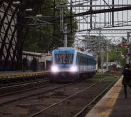 """El Tren Roca """"volvió"""" a La Plata. Foto: El Día"""