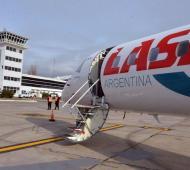 Aerolínea LASA suspendió los vuelos por la situación económica del país