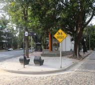 San Isidro: Avanza la obra del nuevo corredor de senderos peatonales para escolares