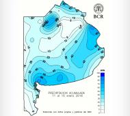 Ahora faltan lluvias: El 70% de la Provincia de Buenos Aires recibió menos de 30 milímetros (BCR)