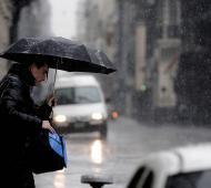 Se esperan intensas lluvias, con ráfagas y posible caída de granizo.