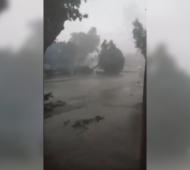 El temporal pasó por Lobería (Pela García)