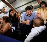 La Diputada Nacional, Daniela Vilar, junto al Ministro Arroyo.