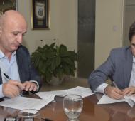 Lorenzino y Russo trabajarán por los derechos de los chicos de Lanús.