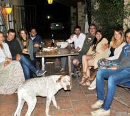La cena se llevó a cabo en Bolívar.