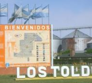 Los Toldos, cabecera de General Viamonte.