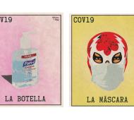 La lotería del Covid-19 por el artista Rafael Gonzales Jr.