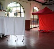 Luján prepara centros de aislamiento para pacientes leves (Foto: Municipio)