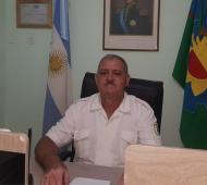 El director de la Guardia Urbana del partido de Ramallo Eduardo Luna