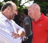 Kroneberger y Mac Allister, los candidatos. Foto: El Diario de La Pampa.