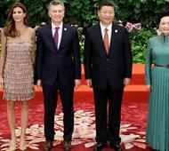 Macri fue recibido por Xi Jinping. Foto: Reuters.