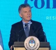 """""""No hay mejor manera de defenderla que acatarla, no atacarla"""", dijo Macri"""