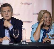 Macri, Carrió y los radicales: Cumbre en Olivos