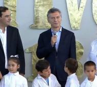 macri encabezó el acto en Corrientes.