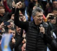 Macri encabezó un acto de campaña en Entre Ríos.