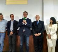 Los anuncios fueron realizados desde el antiguo Concejo Deliberante de Vicente López. Fotos: LaNoticia1