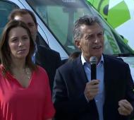 Macri y Vidal lanzaron el SAME en la Provincia.