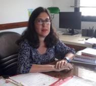 La jueza de Garantías de San Nicolás,María Eugenia Maiztegui