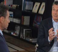 Declaraciones del Presidente en una entrevista en La Cornisa. Foto: Web