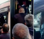 Los pasajeros quisieron linchar al hombre.