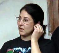 Claudia, la madre agresora que atacó a la maestra.