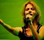 Marcela Morelo cantará el domingo a las 22.00.