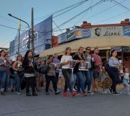 La marcha por las calles del centro. Fotos: Pilar de Todos.