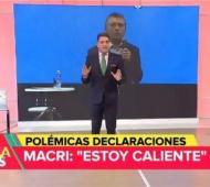 Mariano Iúdica explotó contra Mauricio Macri.