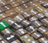 Monte: Policía de la Ciudad incautó dos toneladas de marihuana en una granja